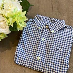 Vineyard Vines button down shirt. Sz S (8-10)